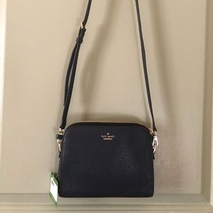 Crossbody bag, navy color.